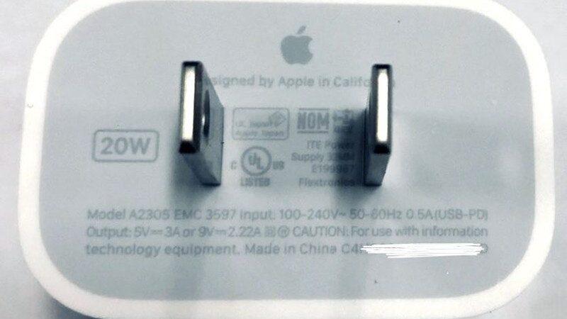 20 watt netzteil iphone 12 mr white